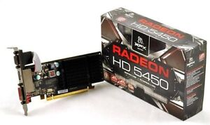 XFX Radeon HD 5450 1GB Graphics Card