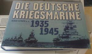 Navire de guerre allemand 1935-1945 ww2 (en allemand)