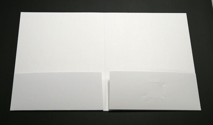 PRESENTATION FOLDERS - 150 Full Color Custom printed