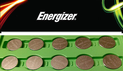 FRESH NEW 10 Pc Genuine Energizer CR2032 Lithium Battery 3V Coin Cell Exp 2024