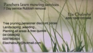 Lawn mowing and rubbish Fairfield Fairfield Area Preview