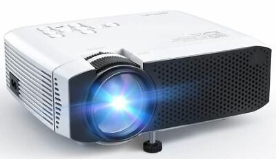 APEMAN Portable Mini Projector 5500 Lumens [2021 Upgraded] Support 1080P
