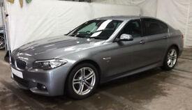 Grey BMW 520 2.0TD Auto 2015 d M Sport FROM £57 PER WEEK!