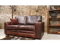 Leather sofa / halo / high end / couch paid £2.2k