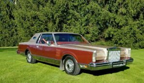 1980 Lincoln Continental Mk VI Coupe - Givenchy Edition