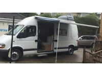 Renault Master self build motorhome