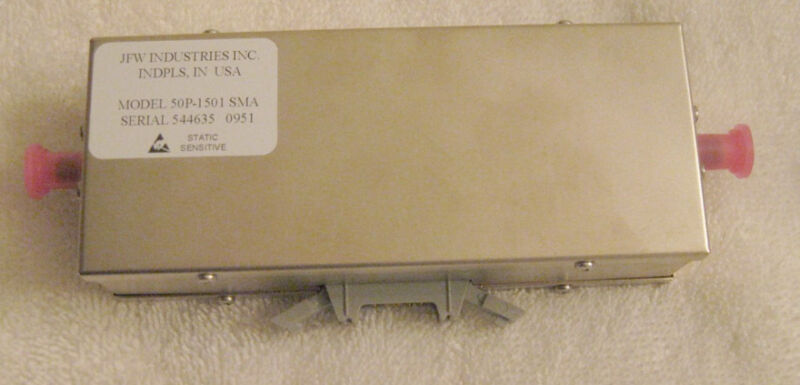 JFW Industries 50P-1501 Programmable Attenuator SMA Solid State  3GHz  NEW RF