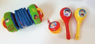Disney Little Einsteins Accordion Maracas Shaker Instrument Lot