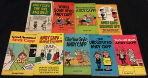 Andy Capp Books by SMYTHE Lot of 9 Comics