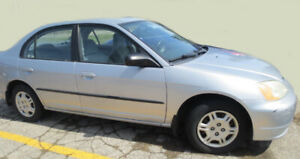 2002 CIVIC HONDA  4 DOOR