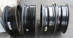 Set of 4 Tire Rims from 2009 Jeep Compass - 17 In.
