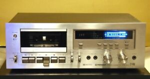 Up for sale is a Pioneer vintage cassette tape deck model CT-F65