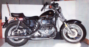 MINT 1981 Harley Sportster 1000 XLCH