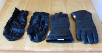 Hondaline Insulated Leather Motorcycle gloves VG Condition Inclu