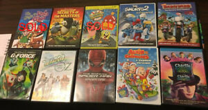 DVD movies for family and kids