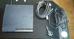 Ps3 slim 160 gb CECH-2501A + Bluetooth + 7 jeux