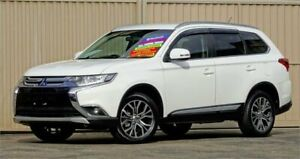 2016 Mitsubishi Outlander ZK MY16 LS (4x4) White Continuous Variable Wagon Lismore Lismore Area Preview