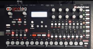 Elektron Analog Four Desktop Synth, Sequencer, Arpeggiator,