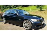 2007 BMW 320i SE BLACK 4DR 2.0 320 PETROL 6 SPEED M SPORT ALLOYS & CRUISE E90