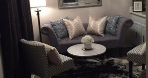 New couch from Homesense