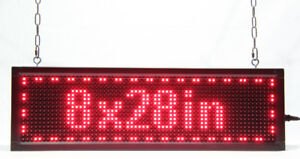 SCROLLING LED SIGN SUPER-BRIGHT PROGRAMMABLE LOWEST PRICE