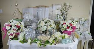 Wedding Supplies Centerpieces Fabrics Faux Flowers Candelabra