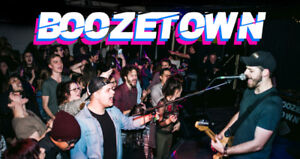 Boozetown Cover Band Available for Hire