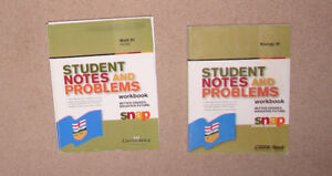 Student Notes and Problems Workbooks - Pure Math 20, Biology 20