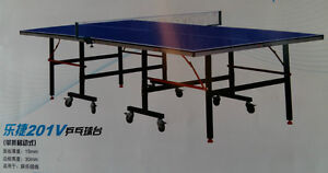 Double Fish Ping Pong Table 201S/V, 15mm Training & Recreational