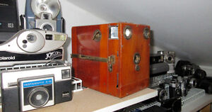 Vintage and newer cameras collection for sale!