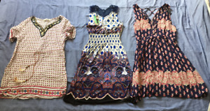 Clothing set of 3 summer dresses for woman