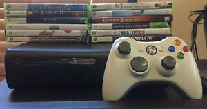 Console Xbox 360 HDD 120G + 12 Jeux