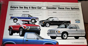 COOL 1994 CHEVY SERIES RETRO PICKUP TRUCKS AD - ANONCE CAMION