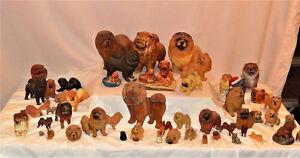 Chow Chow Figurines