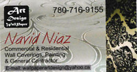 Painting services and renos