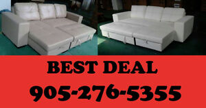 2PCS SECTIONAL SOFA BED WITH STORAGE ONLY $599.00