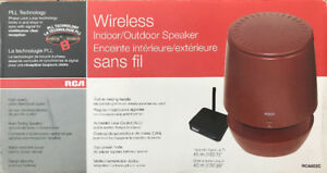 RCA Wireless Outdoor/Indoor Speaker