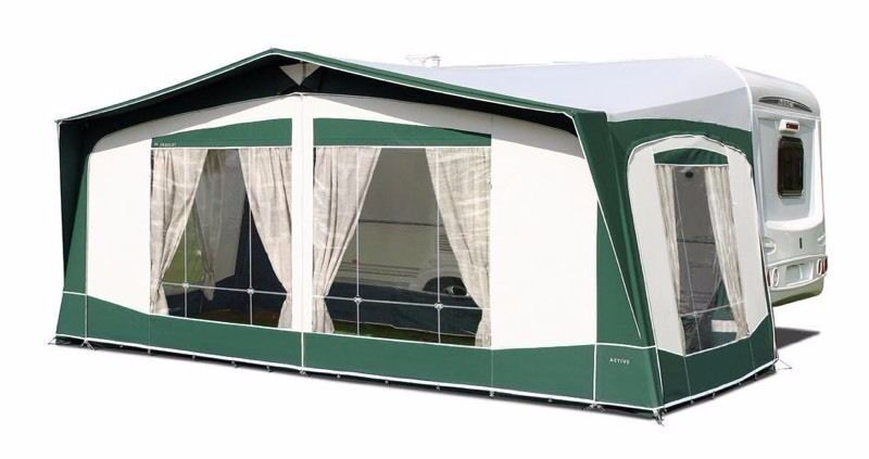 Bradcot Awning 750 As New And In Excellent Condition Green