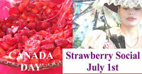 Canada Day Strawberry Social