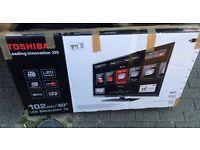 "40"" Toshiba Smart LED TV I can deliver"