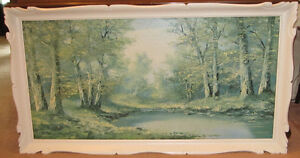 LARGE FRAMED PICTURE BY K. GATERMAN