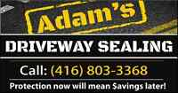 Adam's Asphalt - Residential and Commercial Driveway Sealing