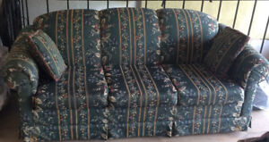 3 Pieces Sofa Set and Coffee Tables