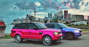 Selling PINK CHROME Range Rover Sport Supercharged