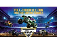 Monster Jam Ticket - Cardiff September 3rd 2016