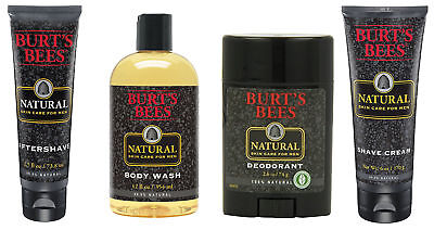 Men Care Natural - Burt's Bees Natural Skin Care for Men Products, 4 Types