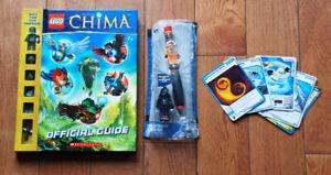 LEGO mix set : Pen-Star Wars , Chima-Guide, 5 Ninjago trading ca
