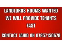 Rooms Wanted in ilford, redbridge, Newbury Park - We can provide tenants