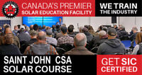 Solar CSA Electrician Course in Saint John, NB