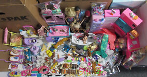 BARBIE DOLL, FURNITURE,ANIMALS & ACCESSORIES LARGE LOT